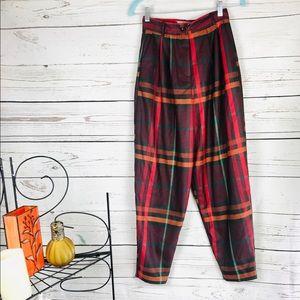 ASOS 4 NWT Burgundy,orange,green pants
